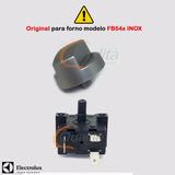 Chave Seletora E Botão Fb54x Forno Inox Original Electrolux
