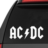 Stickers Acdc Metal Mde