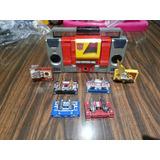 Transformers G1 Blaster Y Sus Cassettes