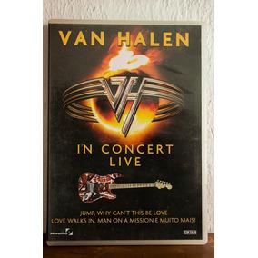 Dvd - Van Halen - In Concert Live