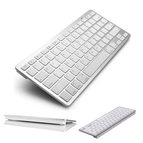 Mini Teclado Bluetooth P/ Celular Iphone Galaxy Tablet Ipad