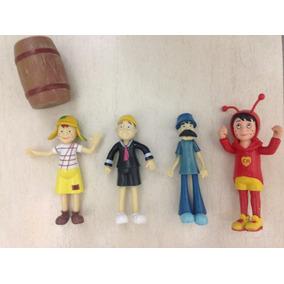 Kit Bonecos Turma Do Chaves (4 Personagens)