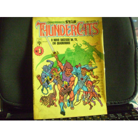 Hq - Thundercats Nº 1 Ano 1986 Raro