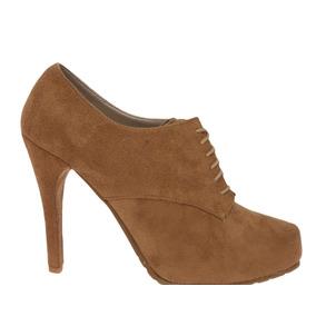 84c6715a911 Botin Color Camel Mujer Botines - Zapatos en Mercado Libre México
