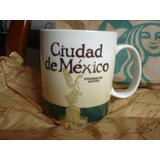 Starbucks City Mug Ciudad De México Taza 16 Oz Rara