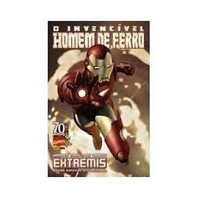 O Invencivel Homem De Ferro Extremis Encadernado Panini