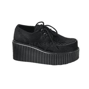 Leopardo Zapatos De Demonia Zapatillas Con Mujer Cadenas Creepers Sp6qwn5