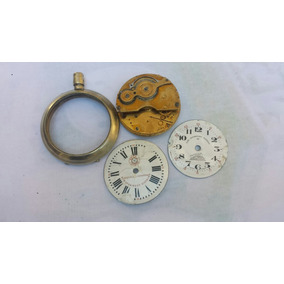 4948db86d0a80 Relogio De Bolso Estrada De Ferro Desmontado - Relógios no Mercado ...