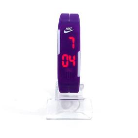 Relógio Nike Led Watch Roxo Frete Grátis