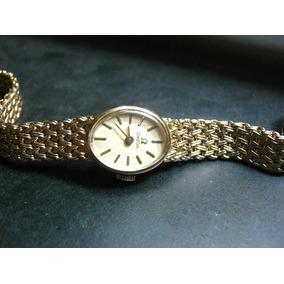 Reloj Omega Deville Chapa De Oro 14 K 20 Micras Vintage