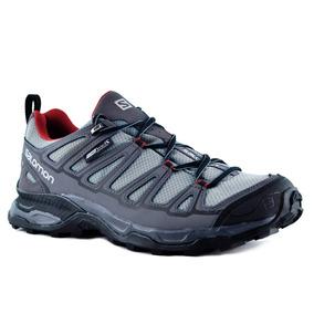 Zapatillas Salomon X Ultra Prime Cs Wp Hombre Gris