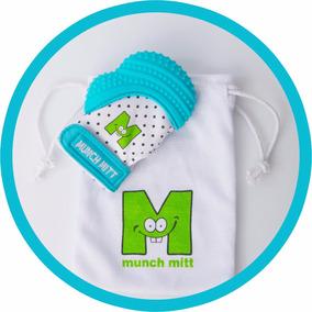 Mordedera Para Bebé Munch Mitt, Guante De Dentición - Azul