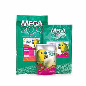 Ração Para Papagaio Super Premium Am 16 12kg Megazoo