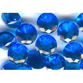 20 Zirconia Azul Redonda 20 Ct Lote Para Joyeros/