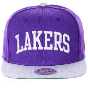 Bone Snapback Los Angeles Lakers Mitchell Ness - Bonés no Mercado ... 5d43750f382