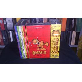 Pocket Garfield Com 5 Vol. Lacrado Ver Frete