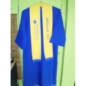 Tunica Y Birrete De Graduacion