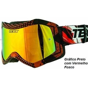 f5caddf1b770e Óculos Espelhado Trilha Vega Flex Iridium Motocross, Race ...