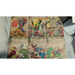 Coleção Histórica Marvel Os Vingadores - 2 A 7