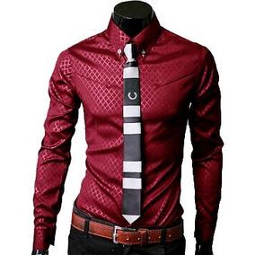 Camisas Hombre, Camisa Vestir Caballero Dia Del Padre Regalo