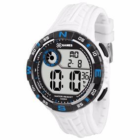 4c7ee7dc624 Relogio Branco Masculino Digital X Games - Relógios De Pulso no ...