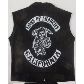 Patch Sons Of Anarchy Estampado (3 Partes)
