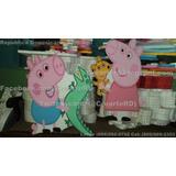 Adornor Para Cumpleaño O Fiesta Infantiles Tema Peppa Pig