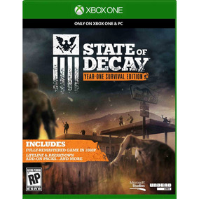 Jogo Midia Fisica State Of Decay Survival Edition Xbox One