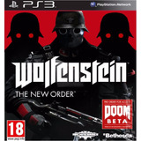 Wolfenstein The New Order Ps3