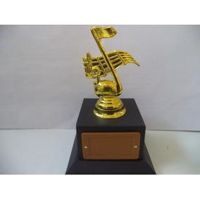 Troféu De Música (18 Cm.)