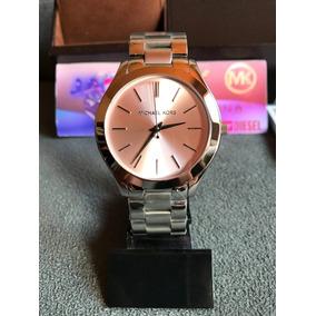b48e3d8f068 Relógio Michael Kors Mk3380 Prata Original Completo C  Caixa
