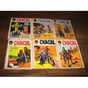 Chacal Lote Com 24 Edições Editora Vecchi Ano 1980 Original