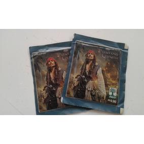 Lote Com 2 Envelopes Lacrados Piratas No Caribe Ótimo Estado