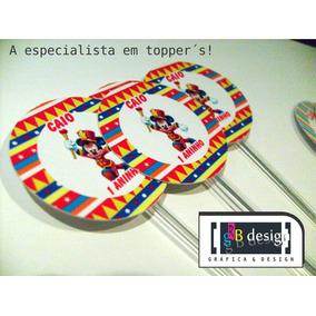 Palitos Para Doces Mickey E - Artesanato no Mercado Livre Brasil f0f81e99638bd