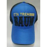 Boné Frases Eta Trem Baum Country Casual b85aa70dbae