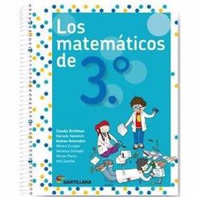 Los Matemáticos De 3 - Santillana
