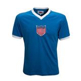 Camisa Retro Estados Unidos 1934 Seleção Usa Ligaretro aa0c4740c086b