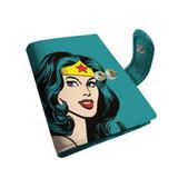 Porta Cartões Azul - Mulher Maravilha - Dc Comics f3b65342e4