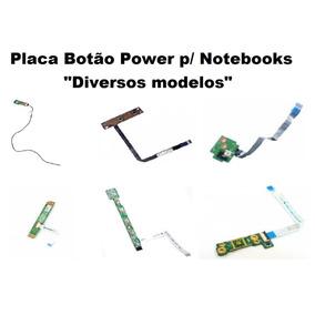 Placa Botão Power Notebook P/ Notebooks Diversos Modelos