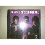 Cd Deep Purple Shades Primer Album De La Banda Made In Uk