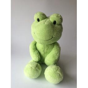 Sapo Verde De Pelúcia - Marca Animal Adventure - Importado