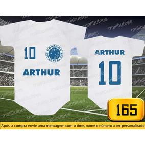 Camiseta Cruzeiro Replica Retro - Bebês no Mercado Livre Brasil c33c0866b15c7