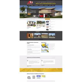 Site Responsivo Para Construtoras E Incorporações