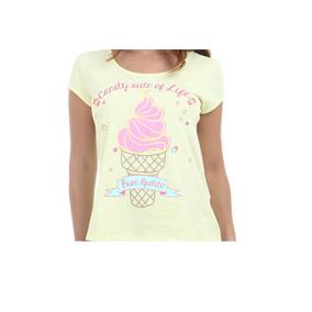 29c92517e3567 Blusa Estampas Sorvete - Camisetas e Blusas no Mercado Livre Brasil