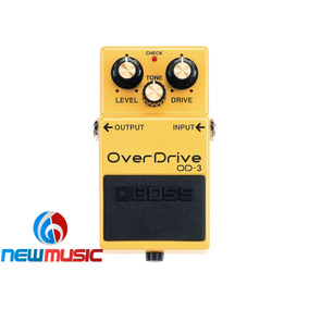 Pedal P/guitarra Boss Over Drive Od-3 #1072