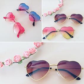 95c3528d94c29 Óculos Retro De Coração.(rosa) - Óculos no Mercado Livre Brasil