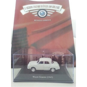 Willys Gordini/carros/carrinho/brasil/miniatura/coleção/