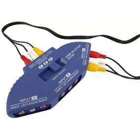 Video/audio Switcher Gts- 061 - Chaveador Audio Video