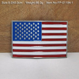 Fivela P  Cinto Bandeira América Estados Unidos Usa Motos Pc 76b1c75b28