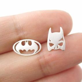 Brincos Do Batman - Máscara De Morcego E Logo